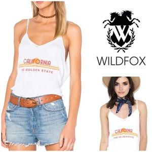 Wildfox California Golden State Tank NWT